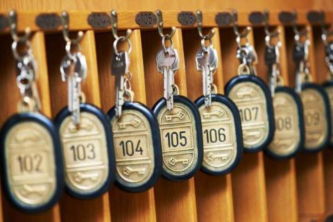 Система управления отелем АСУ Эдельвейс: загрузка номерного фонда